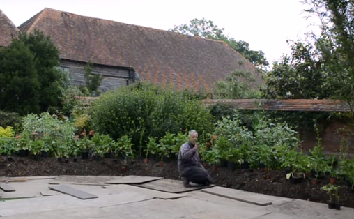 Re planting the sola garden at Great Dixter  timelapse  15 hours in 5 minutes   YouTube
